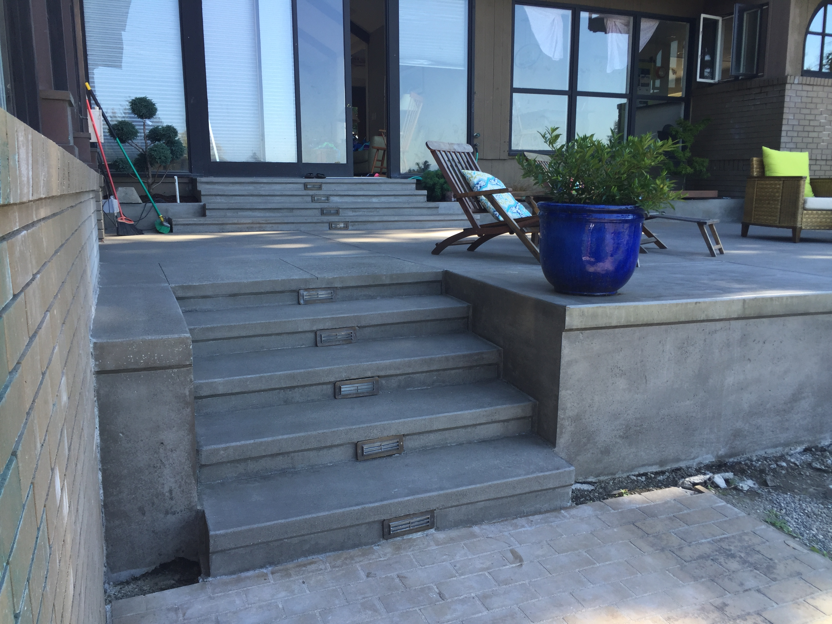 Derouin Concrete Custom Decorative Concrete In The Puget